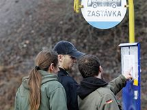 Desítky vězňů opustily 1. ledna 2010 věznici v Příbrami. (1.1.2010)