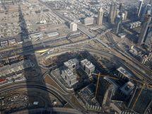 Nejvyšší mrakodrap na světě v Dubaji.
