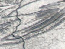 Pennsylvánie ze satelitu
