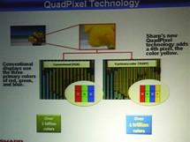 Sharp LCD QuadPixel