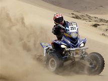 Marcos Patronelli na Rallye Dakar