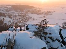 Český ráj, výhled z Drábských světniček