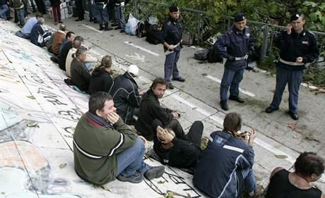 Rumunští imigranti v Itálii