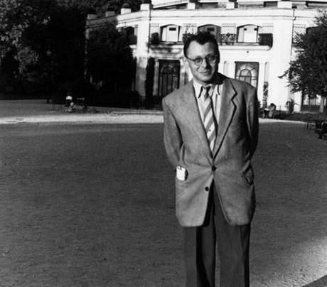 Jiří Kárnet v Paříži, rok 1951