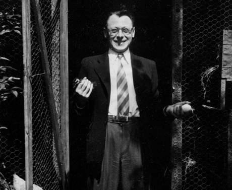 Jiří Kárnet v Paříži, asi konec 40.let