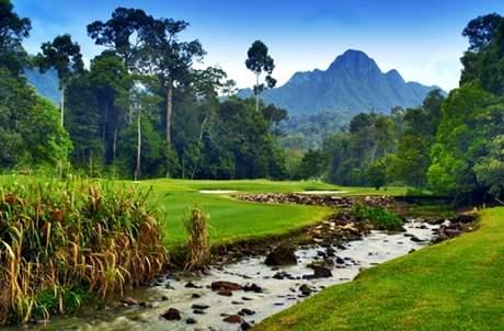 Datai Bay Golf Club - Malajsie.