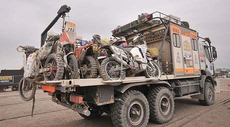 Balais: sběrné vozidlo na Rallye Dakar