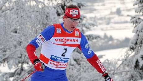 Lukáš Bauer na trati Tour de Ski
