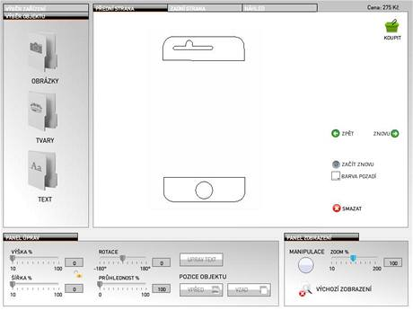 Aplikace StyleSkin Designer