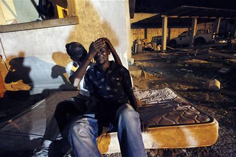 Přeživší v Port-au-Prince