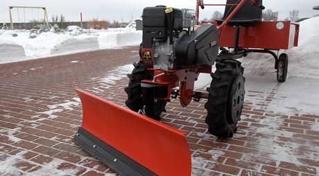 Radlice na víceúčelovém zemědělském stroji