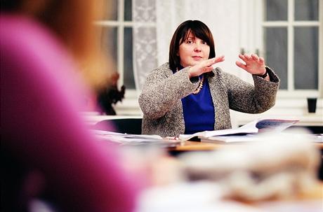 Kateryna Zubkovská - Ruská učitelka žijící vČechách