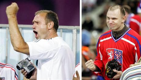 Ivan Langer v hledišti na olympiádě v Aténách (2004) a v Turíně (2006).