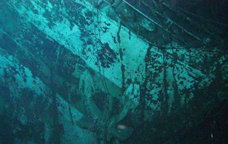 Vrak australské nemocniční lodi Centaur