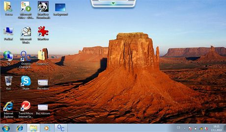 Zm�na pozad� ve Windows 7 Starter