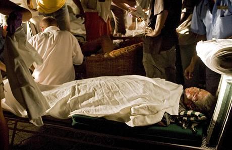 Ostrov Haiti zasáhlo zemětřesení o síle  7 stupňů Richterovy stupnice (12. ledna 2010)