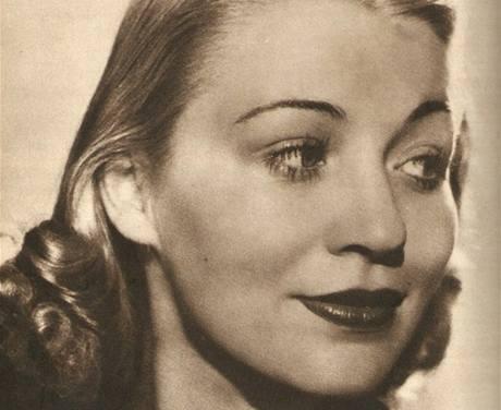 Sylva Langová-Williamsová na dobovém snímku