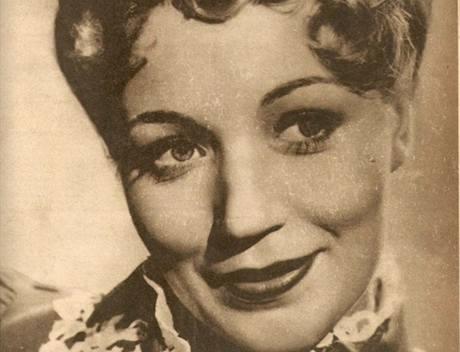 Sylva Langová-Williamsová na obálce časopisu Kino