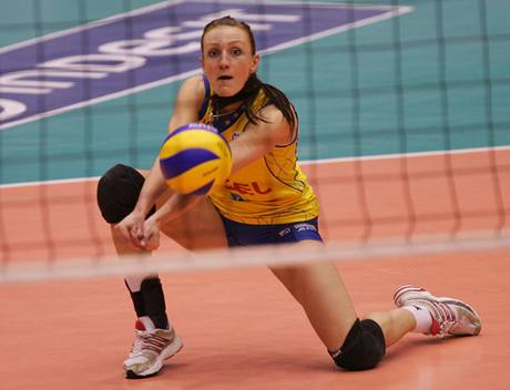 Prostějovská volejbalistka Markéta Tomanová.
