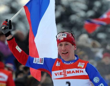Lukáš Bauer slaví triumf na Tour de Ski