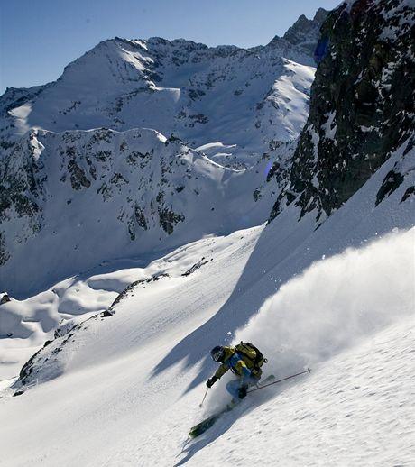 Švýcarsko. Divoké jízdy mezi skalami nad Thyonem 2000
