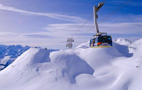 Švýcarsko, Čtyři údolí, Verbier, Mont Fort