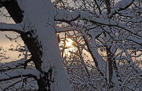 Západ slunce u Károva