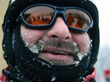 Zimní počasí v Řásné na Vysočině. (17. ledna 2009)