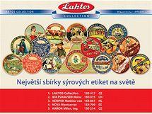 Etikety ze sbírky Laktos Collection