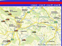 Sypače středočeského kraje je možné sledovat na internetu