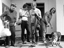 Milan Ohnisko, Václav Havel na Hrádečku, 1984