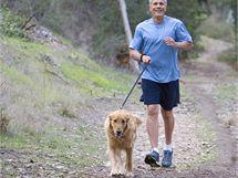 Takzvaný caniscross, při kterém běží člověk a jeho pes po vytyčené trati, si může vyzkoušet každý pejskař.
