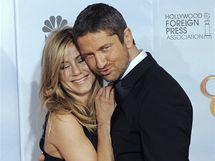Zlaté glóby 2010 - Jennifer Anistonová a Gerard Butler