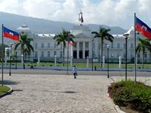 Haiti. Port-au-Prince - Prezidentský palác (Palais National)