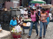 Haiti. Port-au-Prince - Grand Rue
