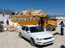 Haiti. Na hranici Malpasse Jimaní
