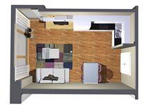 Ideální obývací kuchyně je moderní, elegantní a jednoduchá