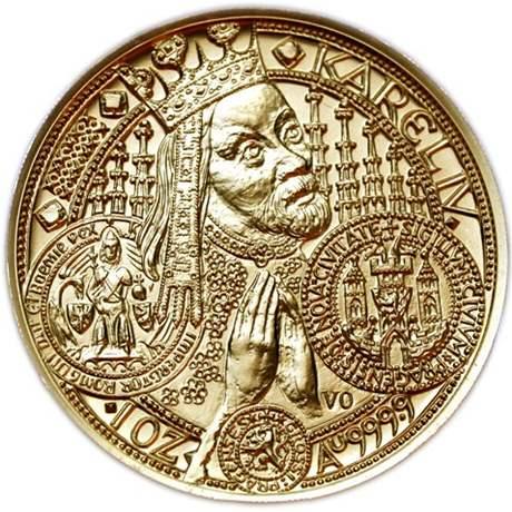 Zlatá mince - Nové město pražské