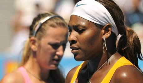 Serena Williamsová (vpravo), Victoria Azarenková