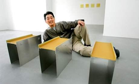 Dům umění - japonský výtvarník Atsuo Hukuda