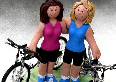 Lesby cyklistky