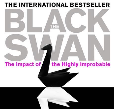Obal knihy Černá labuť