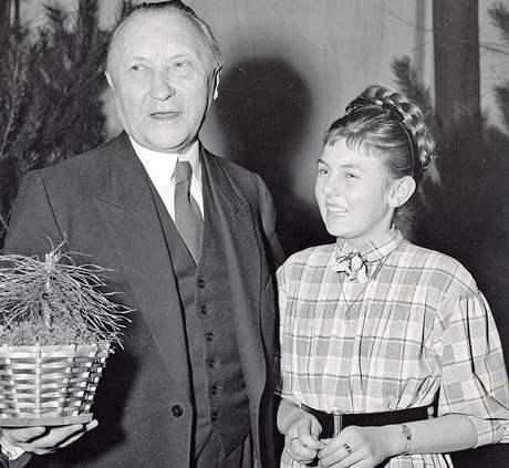 Spolkový kancléř Konrad Adenauer v roce 1951