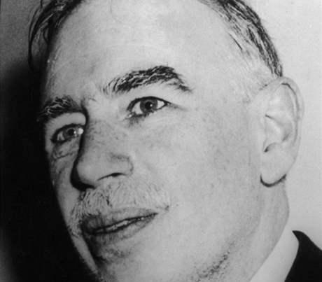 John Maynard Keynes (1883-1946), anglický ekonom, profesor na univerzitě v Cambridge a guvernér anglické centrální banky (Bank of England).