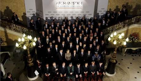 Na konferenci o Afghánistánu přijeli do Londýna zástupci šesti desítek zemí (28. ledna 2010)