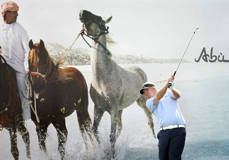 Ross McGowan - Abu Dhabi Golf Championship, první kolo.