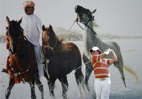 Rory McIlroy, Abu Dhabi Golf Championship