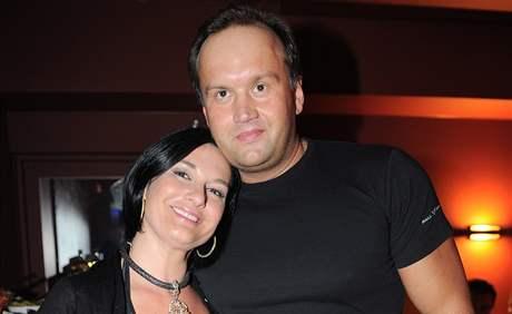 Mirka Čejková s manželem