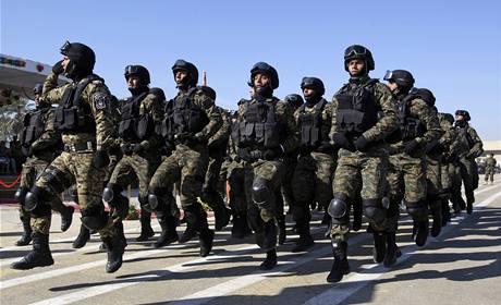 Iráčtí policisté na přehlídce
