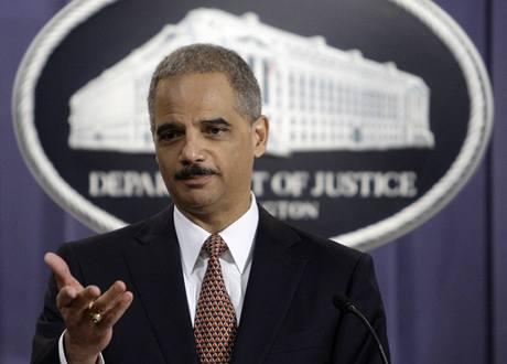 Americký ministr spravedlnosti Eric Holder